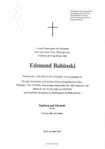 Edmund Babinski